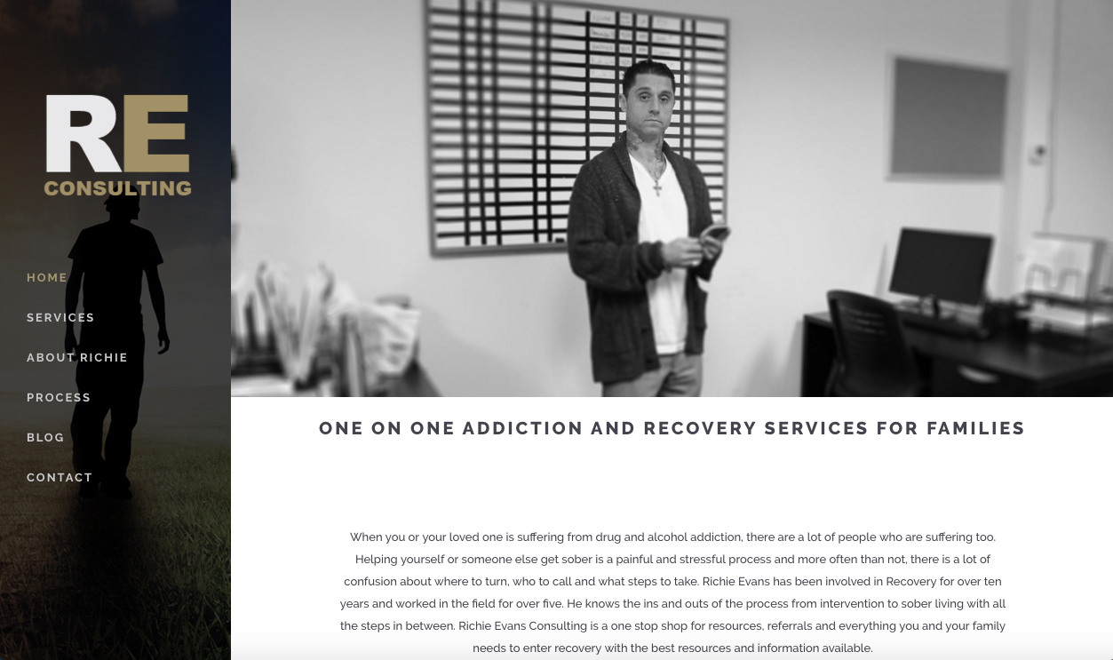 Recovery Coach Website